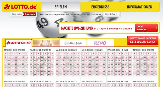 lotto online kosten