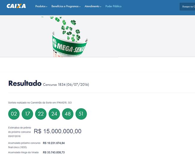 mega sena braziliaanse lotto